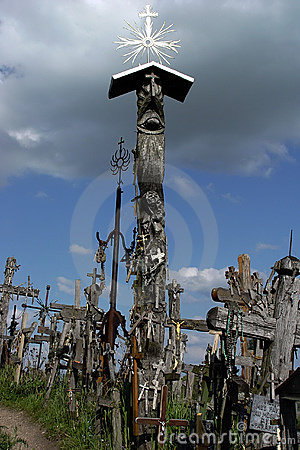 Old crosses