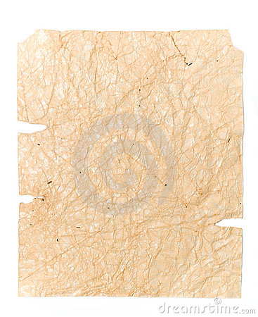 Old crushed brown paper for your illustrations