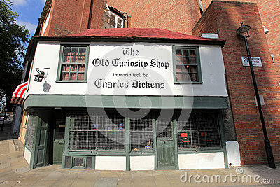 The Old Curiosity Shop Editorial Stock Image