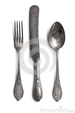 Free Old Cutlery Royalty Free Stock Images - 27634319