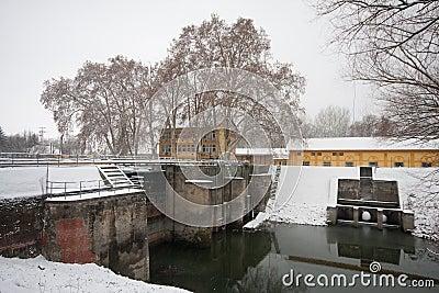 Old dam