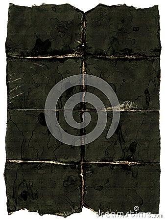 Old dark paper