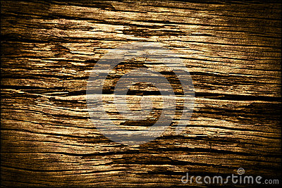 Old Dark Wood Background Texture