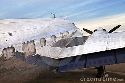 Old DC3 Airplane