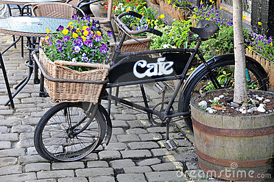 Old Delivery Bike