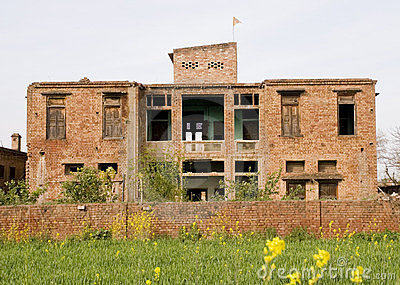Old deserted building