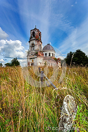 Old deserted church
