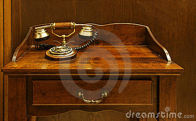 The old desk phone