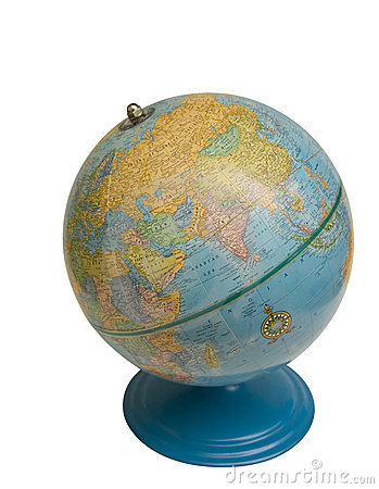 Old Desktop Globe