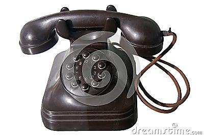Dial Phone Stock Photo - Image: 1890