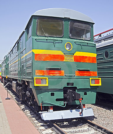 Old diesel locomotive 5