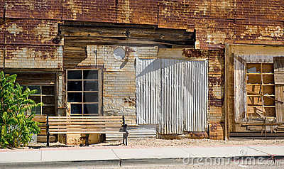 Old dilapidated building