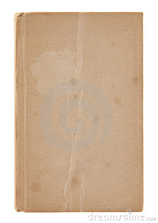 Free Old Dirty Book Cover Stock Photo - 23245420