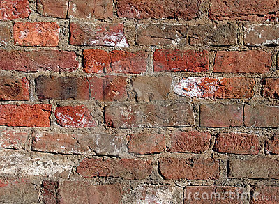 Old and dirty brick background