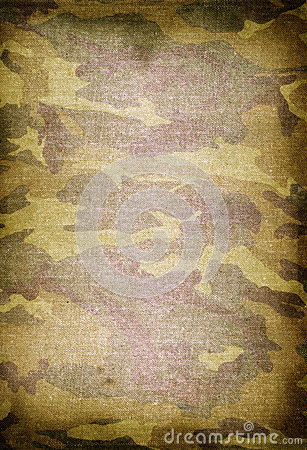 Old dirty camouflage