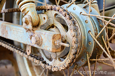 how to clean a rusty motorcycle chain