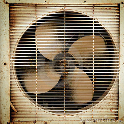 Free Old Dirty Ventilation Fan Royalty Free Stock Photo - 7341765
