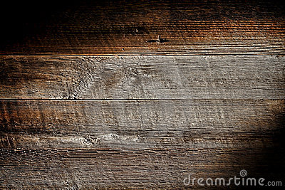 Old Distressed Wood Board Plank Grunge Background