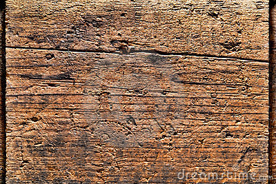 Old Distressed Wood Plank Background