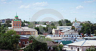 Old district of Murom. Russia