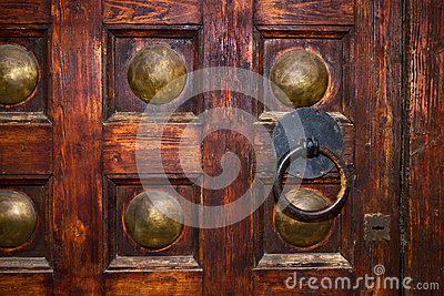 An old door