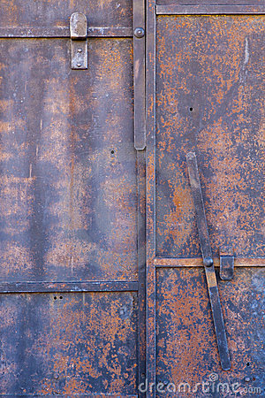 Old Door Closeup