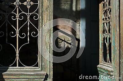 Old door entrance