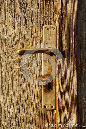 Free Old Door Handle Stock Photo - 14112710