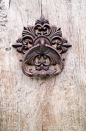 Free Old Door Knocker Royalty Free Stock Images - 10062969