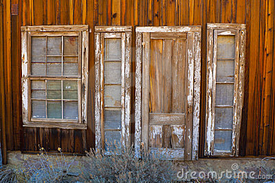 Old Door and Windows