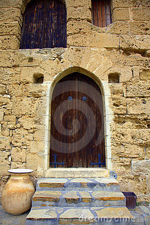 Old doorway in the Kyrenia Castle
