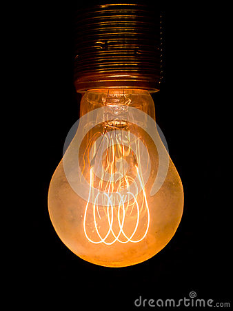 Free Old Dusty Light Bulb Stock Images - 27473844