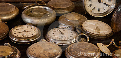 Old Dusty Watches