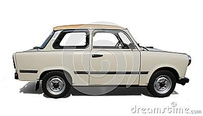 Old Eastern Europe car.