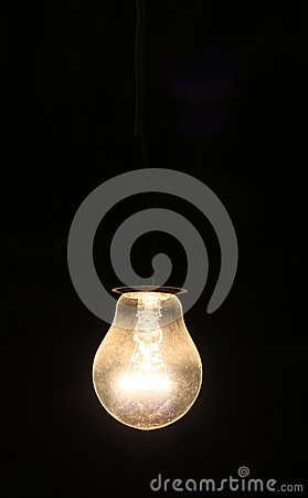 Free Old Electric Lightbulb Stock Images - 31960624