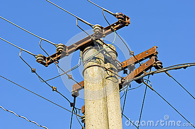 Old electric line