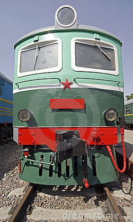 Old electric locomotive 1