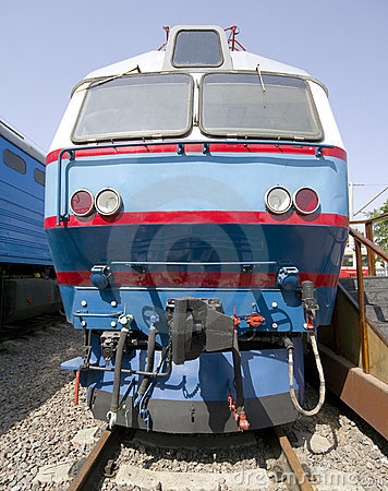 Old electric locomotive 3
