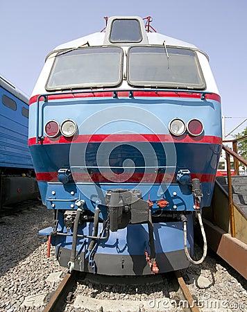 Old electric locomotive 3