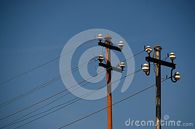 Electricity Wires Stock Photo - Image: 42491497