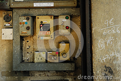 Old electronic switch