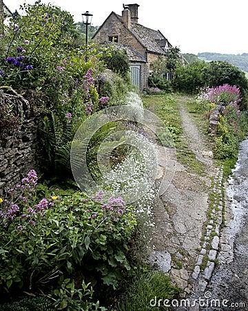 Free Old English Cottage Stock Image - 3063371