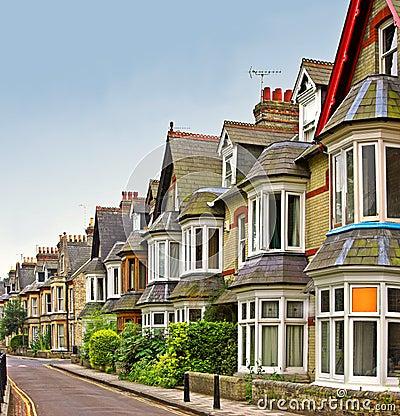 Free Old English Houses Stock Image - 1600811