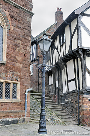 Old english street