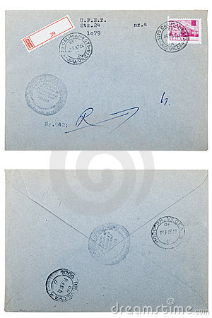Free Old Envelope, Correspondence Concept Stock Photography - 16826172