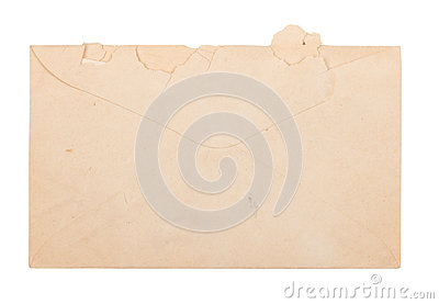Old Torn Envelope