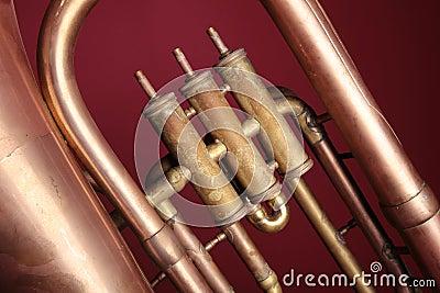 Old euphonium (detail)