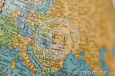 Old Europe Globe