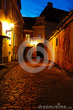 Old European street