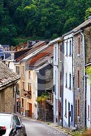 Free Old European Village Royalty Free Stock Photos - 56864098